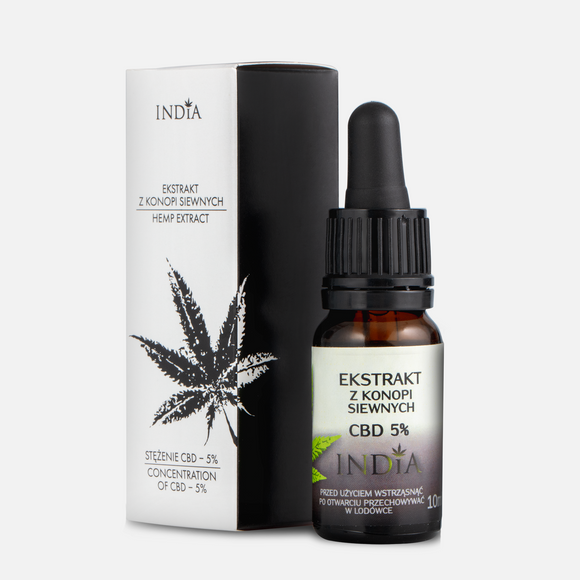 5% CBD Hemp Extract - 10ml