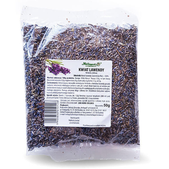 HERBAPOL Herbal Tea Lavender Flower - 50g