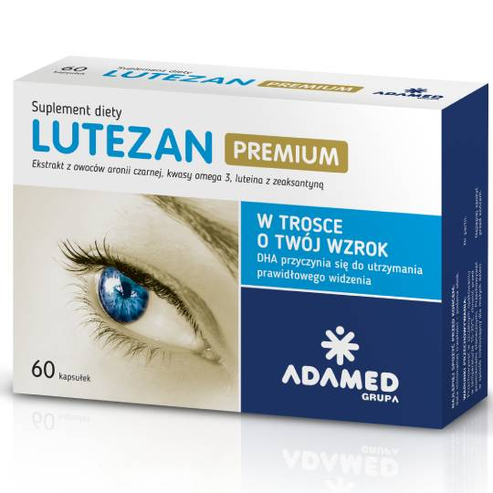 LUTEZAN PREMIUM - For The Sake Of Your Eyesight - 60 capsules
