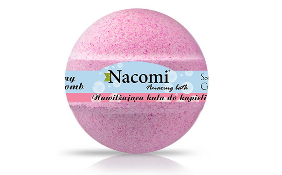 NACOMI Effervescent Raspberry Bath Ball - 130g