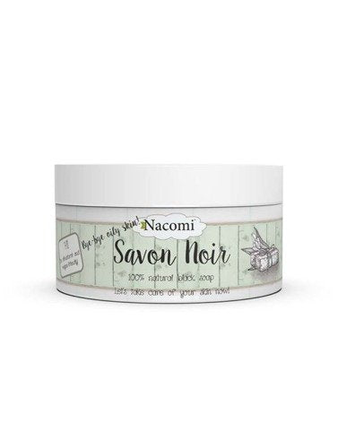 NACOMI Natural Black Soap Savon Noir - 200ml