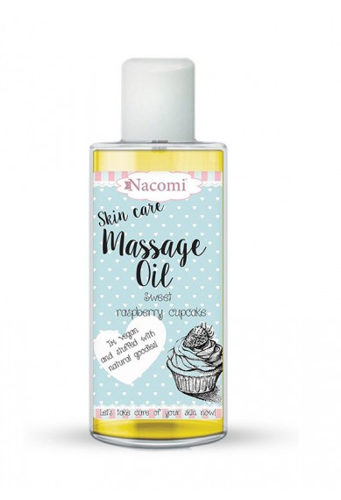 Nacomi Massage Oil Raspberry Nourishing Oil - 150 ml