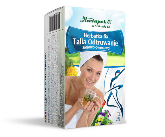 HERBAPOL Herbal And Fruit Tea Talia Detoxification - 20 sachets x 2g