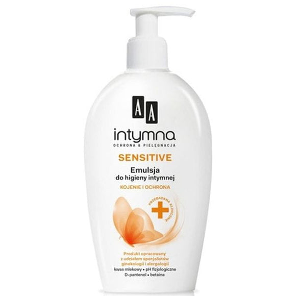 AA INTIMATE - SENSITIVE - Emulsion for Intimate Hygiene 300 ml