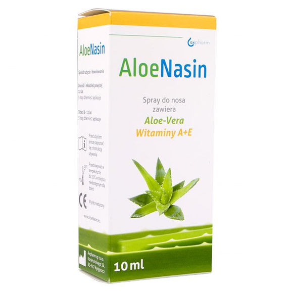 AloeNasin A + E Nasal Spray 10 ml