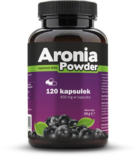 PHARMOVIT - Aronia Powder 120 capsules