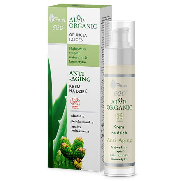 Ava Eco Aloe Organic - Day Cream - Anti-Aging - 50 ml