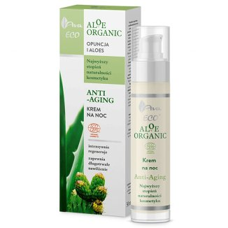 AVA Eco Aloe Organic - Anti-Aging - Night Cream - 50 ml