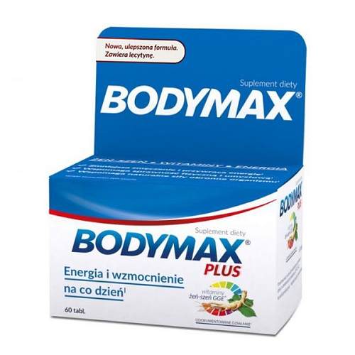 BODYMAX PLUS LECITHIN 60 tablets