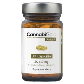 CannabiGold Smart - Hemp Oil - 30 capsules