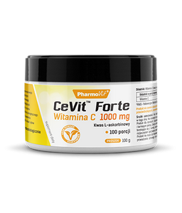 PHARMOVIT - CeVit Forte Vitamin C 1000 mg Powder - 100g