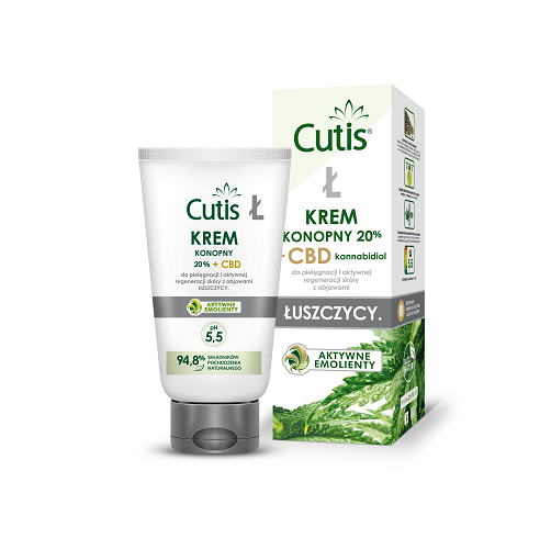 CUTIS Ł - PSORIASIS Hemp Cream 20% + CBD 120 ml