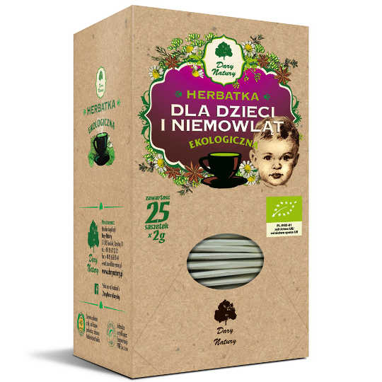 Dary Natury - Organic Tea - For Children And Babies - 25x2g