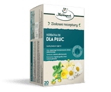 HERBAPOL - FIX TEA FOR LUNGS - 20 sachets - selected mixture of herbs with a positive effect on the function of lungs and respiratory system