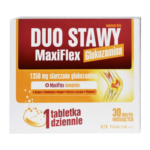 DUO JOINTS MaxiFlex Glucosamine - 30 Effervescent Tablets