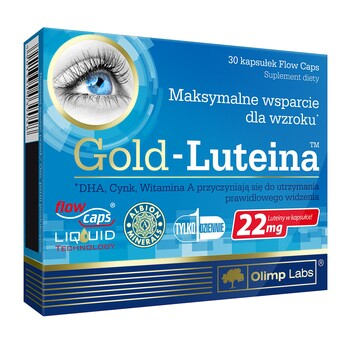 OLIMP GOLD-LUTEIN - Lutein For Eyes - 30 capsules