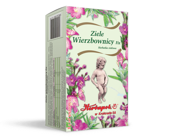 HERBAPOL Herbatka Fix - Willowherb Herb - 2g x 20 sachets