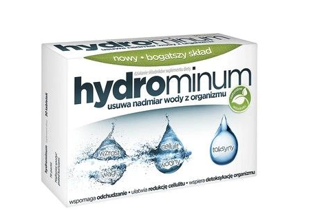 HYDROMINUM - 30 tablets - Removal Of Excess Water From Body