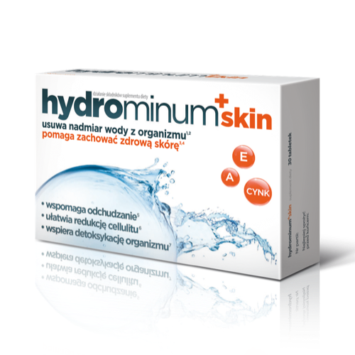 Hydrominum + Skin - 30 tablets