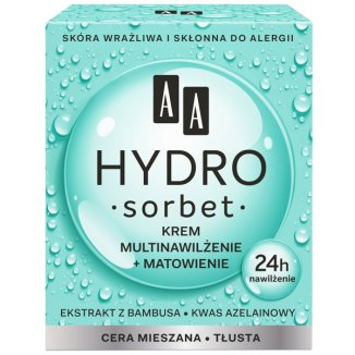 AA Hydro Sorbet Multi Moistrurizing and Energy Face Cream for Normal Skin 50ml