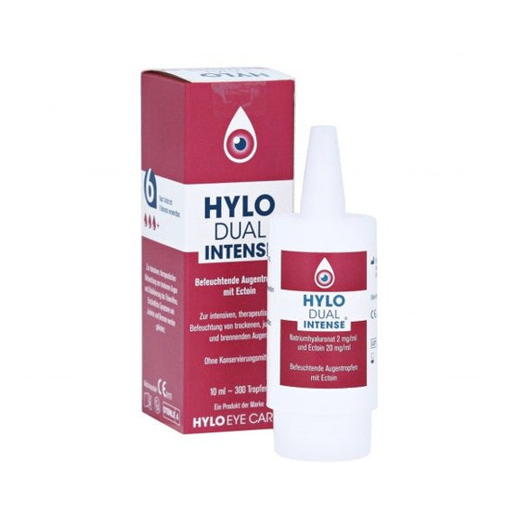 Hylo Dual Intense Moisturizing Eye Drops With Ectoine -10 ml