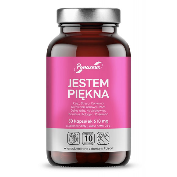 I Am Beautiful - 50 capsules - For Vegan