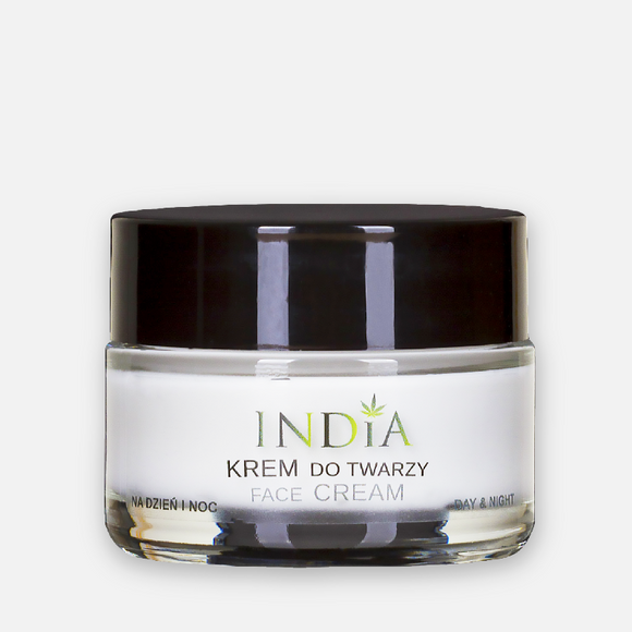 Face Cream With Hemp Oil - Day/Night Facial Cream For Every Skin Type - 50ml
