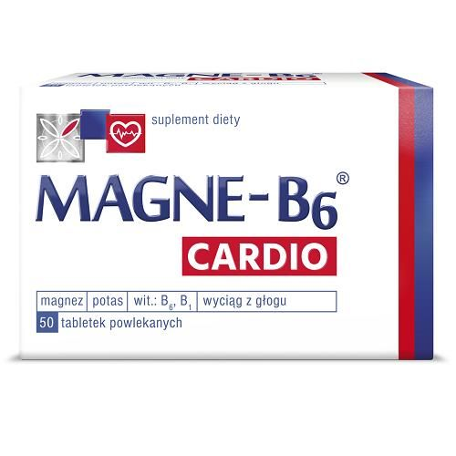 MAGNE-B6 CARDIO 50 tablets