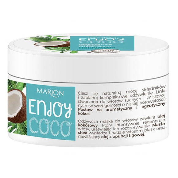 Marion Enjoy Coco Nourishing Hair Mask With Coconut Oil - 200 ml