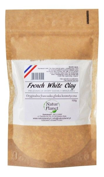Natur Planet White Cosmetic Clay 100g