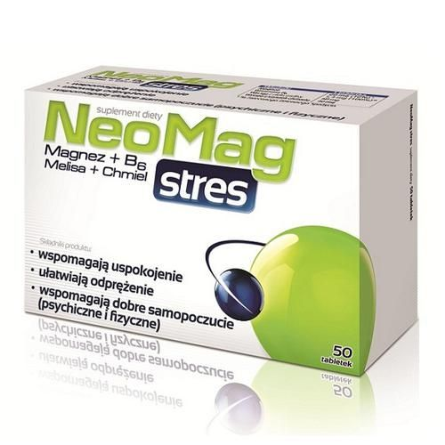 NEOMAG STRES 50 tablets