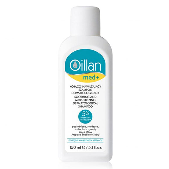 Oceanic AA - Oillan Med + Soothing And Moisturizing Dermatological Shampoo - 150 ml