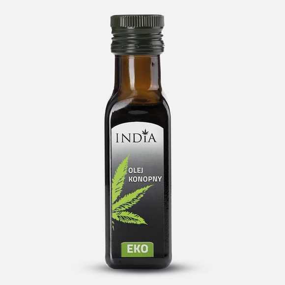 Certified Organic Hemp Oil - 100ml