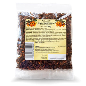 HERBAPOL - Sea Buckthorn Fruit - Fruit Tea - 50g