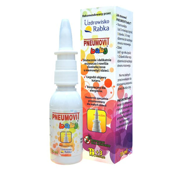 Pneumovit Baby Nasal Spray - 35 ml