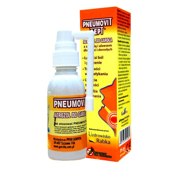 Pneumovit Sept - Throat Spray - 35ml