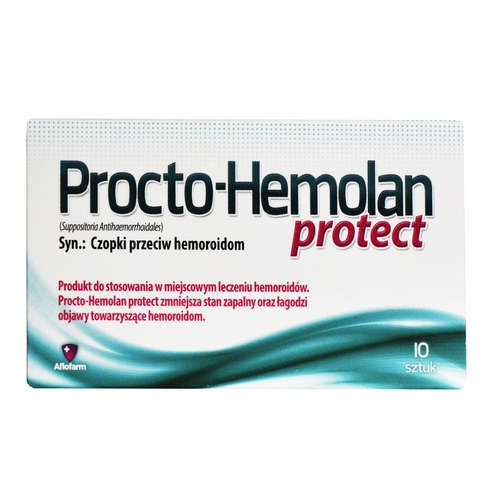 PROCTO-HEMOLAN PROTECT 2 g - 10 Suppositories