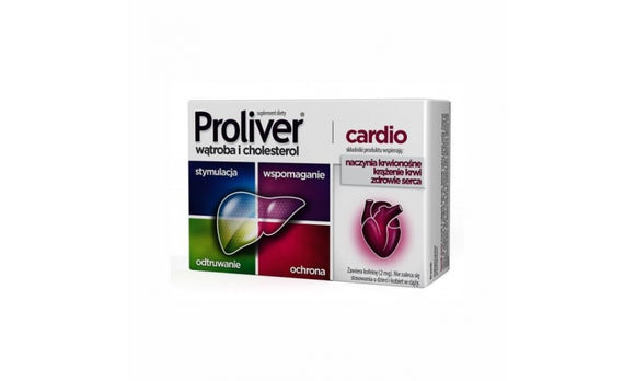 Proliver Cardio 30 tablets