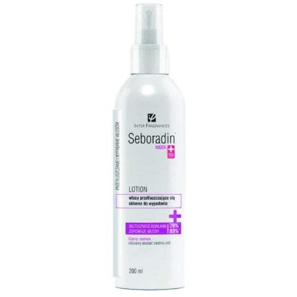Seboradin NIGER - Lotion For greasy Hair - 200ml