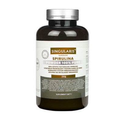 Singularis SUPERIOR SPIRULINA Powder 100% pure 250 g - Suitable For Vegetarians