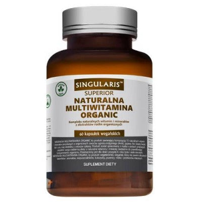 Singularis Natural Organic Multivitamin - 60 Capsules