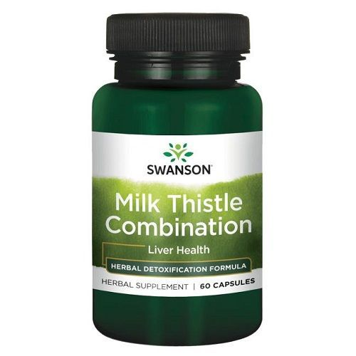 SWANSON MILK THISTLE COMBINATION - 60 capsules