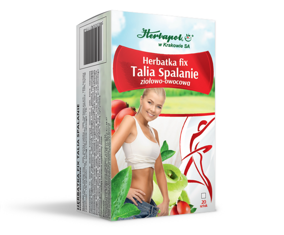 HERBAPOL Herbal And Fruit Tea Talia Burning - 20 sachets x 2g