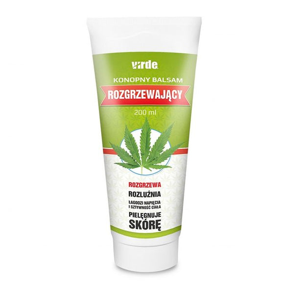 Hemp Warming Balm 200 ml - VIRDE