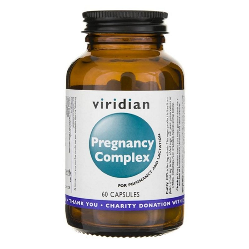 VIRIDIAN PREGNANCY COMPLEX Pregnant Woman 60 - capsules