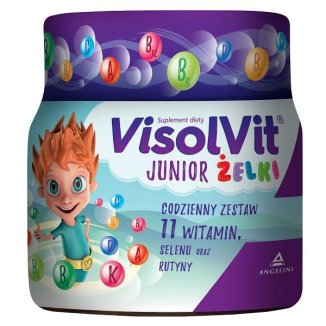 Visolvit Junior From The Age Of 3 - 50 pieces - Multivitamin fruit-flavored jellies.