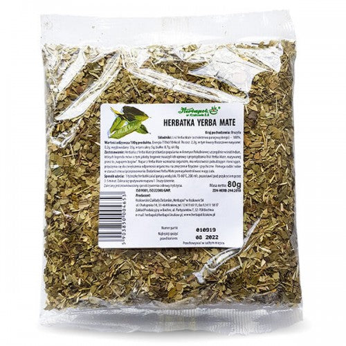 HERBAPOL Herbal Tea - Yerba Mate - 80g