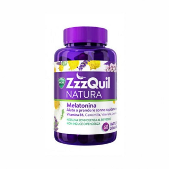 ZzzQuil Natura With Melatonin To Help You Fall Asleep - 60 Jellies
