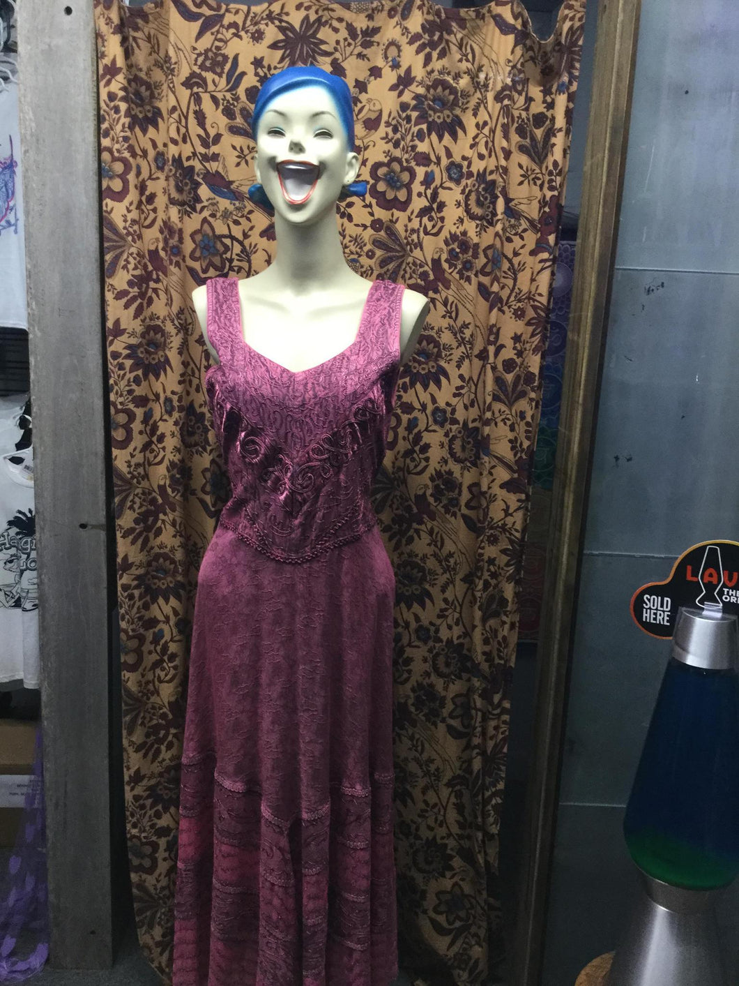 Long Dress with Lace Advance Apparels