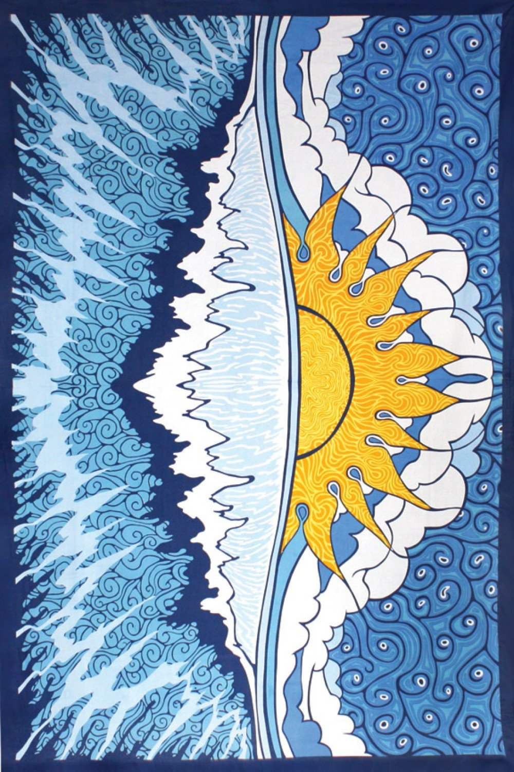 Sun Wave Tapestry 60x90 - Artwork by Chris Pinkerton